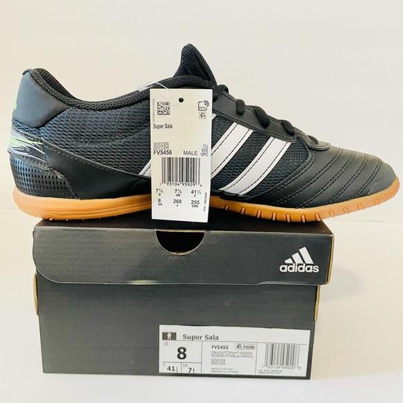 adidas Shoes   Adidas Super Sala Core Solar Green Mens Size 8 ...